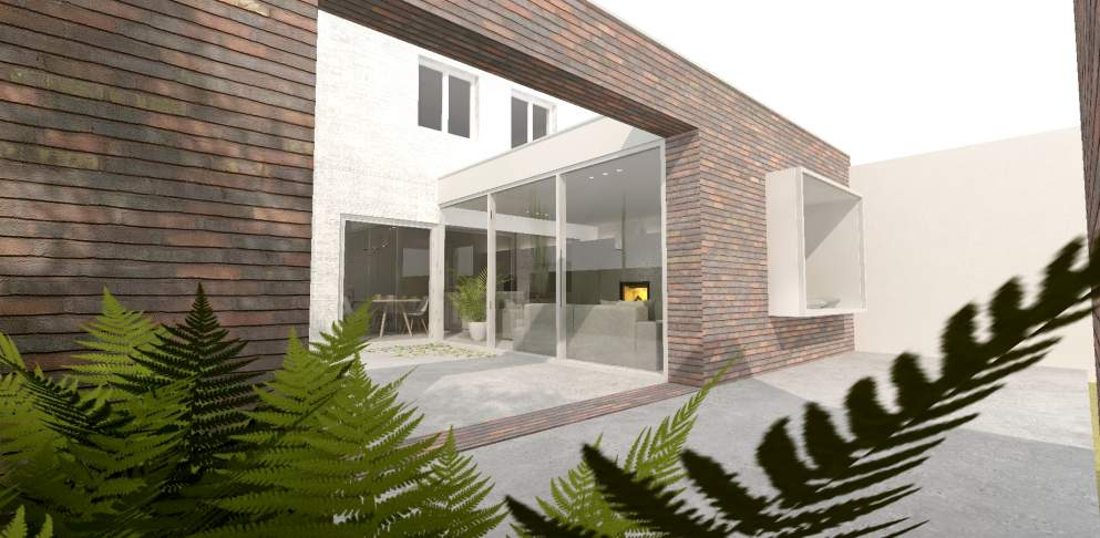 BRES architecten, PPE GSS verbouwing, woning, Gent, 2018